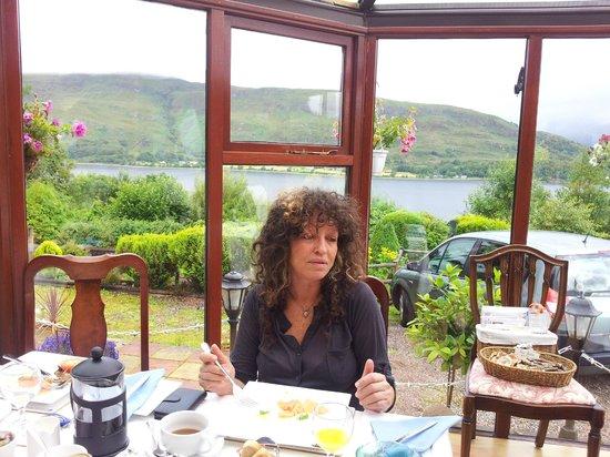 Braeside House : View from breakfast veranda