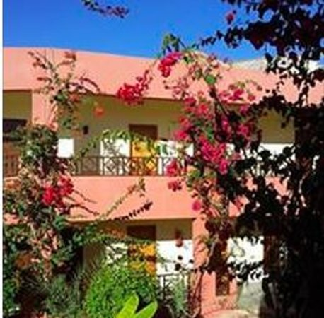 Tropitel Dahab Oasis: View from door of room 205