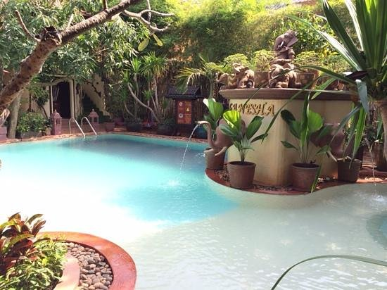 HanumanAlaya Boutique Residence - TEMPORARILY CLOSED : The pool