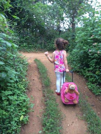 Mahoora Tented Safari Camp - Udawalawe : Leaving the camp