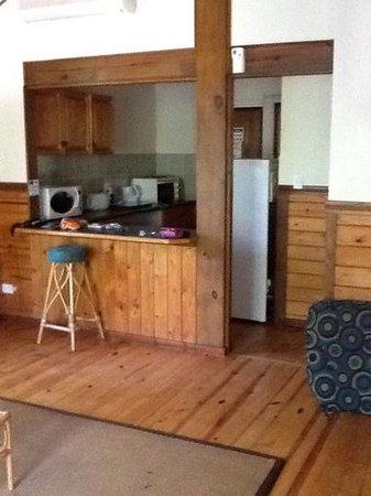 Imvubu Lodge: lounge area