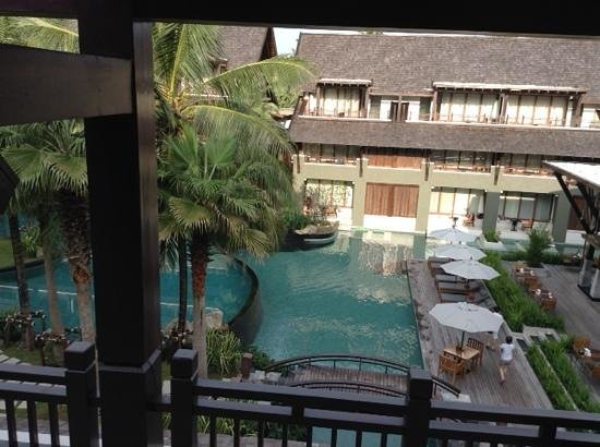 Mai Samui Resort & Spa : view from our room