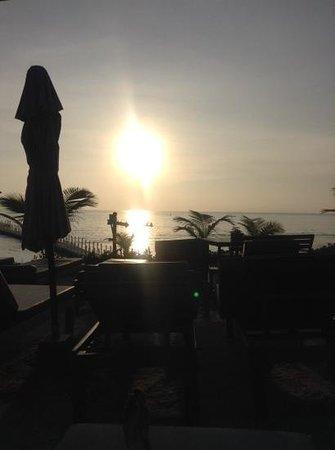 Mai Samui Resort & Spa : amazing sunset