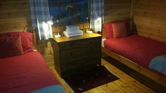 Big Sky Lodges: The twin bedroom