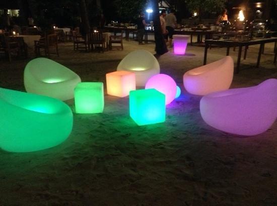 Mai Samui Resort & Spa : dinner on the beach