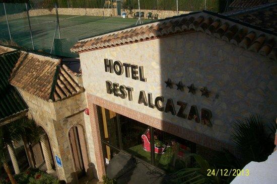 Hotel Best Alcazar: Entrada