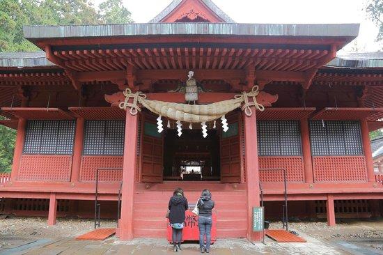 Iwakiyama Shrine: 拝殿