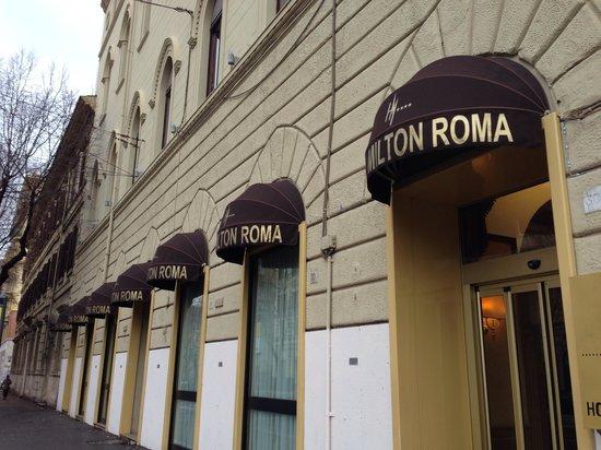 BEST WESTERN PLUS Hotel Milton Roma: 落ち着いた雰囲気の外観