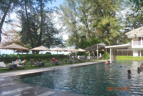 Lone Pine Hotel: Pool area