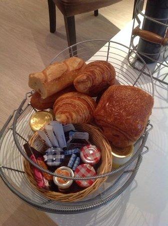 Vign'appart: petit déjeuner