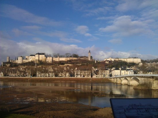 Forteresse royale de Chinon : sunny day in December 2014