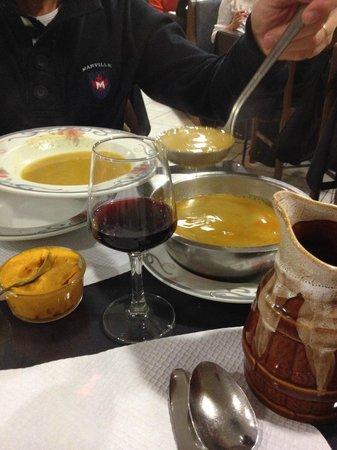 Restaurant d'Angleterre: Zuppa di pesce