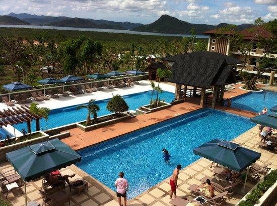 Coron Westown Resort : View from balcony