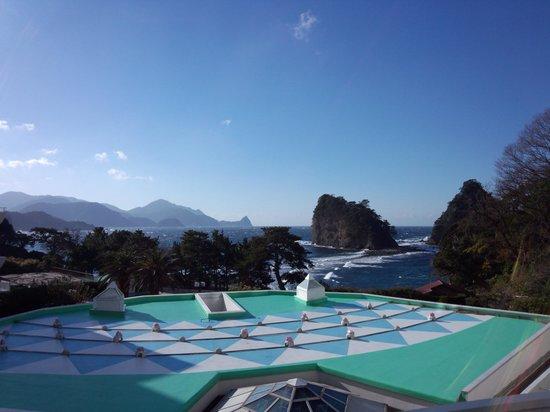 Dogashima Onsen Hotel: 部屋からの眺望です。