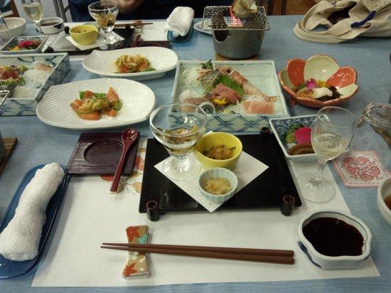 Dogashima Onsen Hotel: 夕食です。