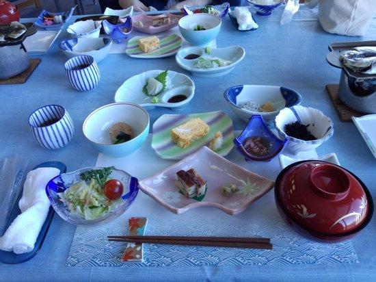 Dogashima Onsen Hotel: 朝食です。