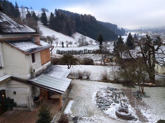 Hotel Schloss Thannegg : view from our bedroom window