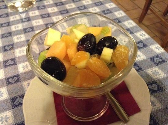 Waldheim Belvedere Hotel : Macedonia di frutta
