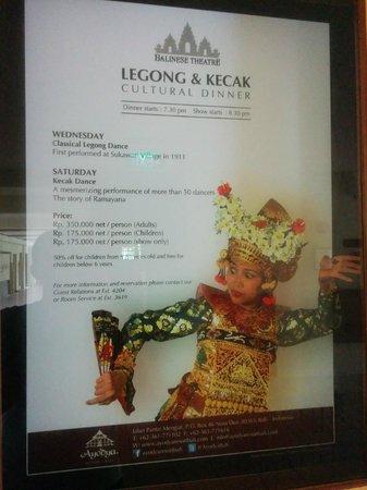 Ayodya Resort Bali: Dance