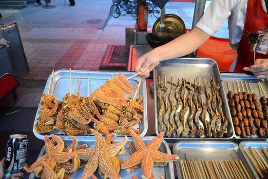Wangfujing Street: Starfish