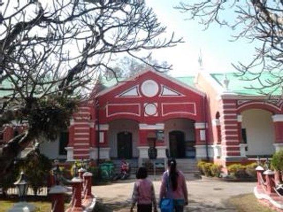 Imphal, Indien: Kangla museum