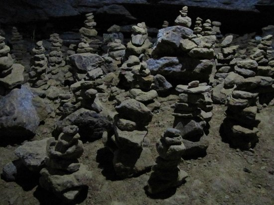 Gupteswar Gupha: Small structures inside the cave
