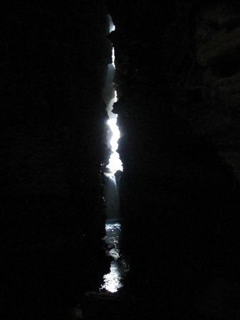 Gupteswar Gupha: Opening at the end of the cave