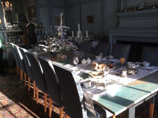 Château de la Ballue : Breakfast room