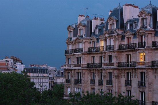Hotel du Printemps: vista dalla nostra camera