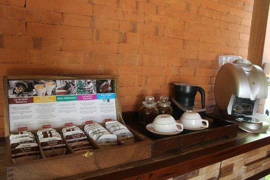 Ubud Padi Villas: coffee shop
