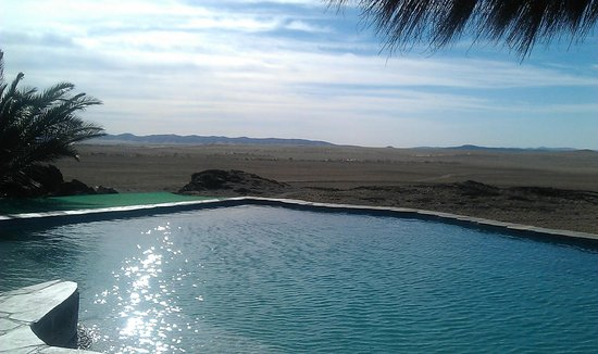 Rostock Ritz Desert Lodge: Blick vom Pool