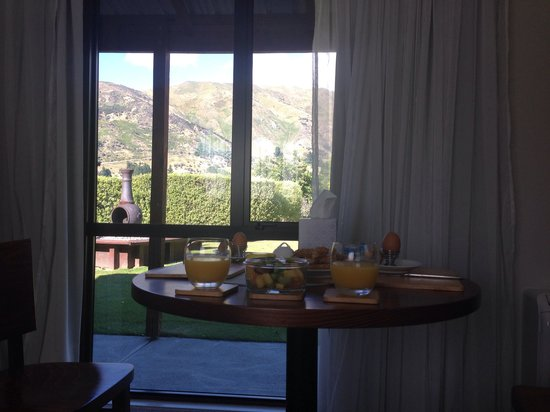 Alpine View Lodge: in room breakfast