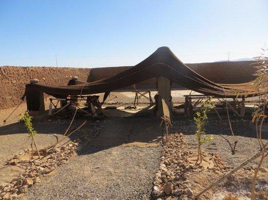 Musée des Sources de Lalla Mimouna : nomad tent
