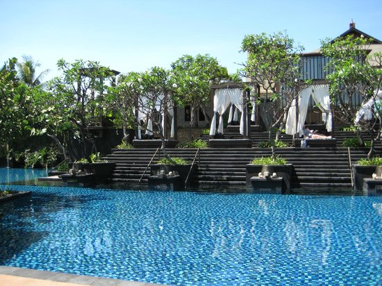 Pool Beds pool & sun beds - picture of the st. regis bali resort, nusa dua