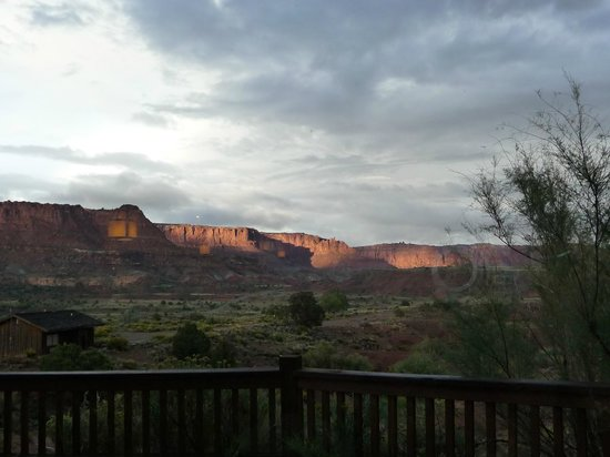 The Rim Rock Inn : Vordere Aussicht