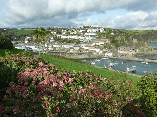 Portmellon Cove Guest House : Mevagissey Town and Harbour