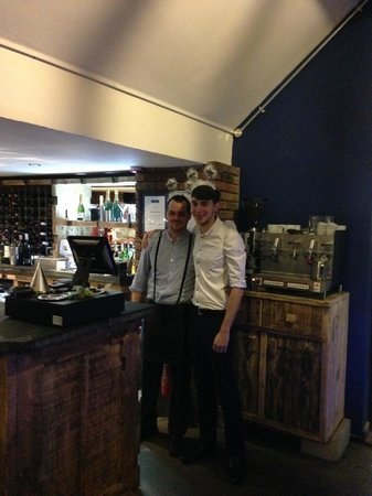 Sandbach, UK: Bar staff New Year's Eve 2014