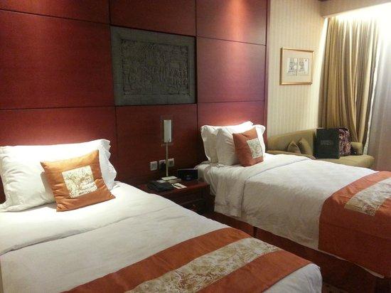 Hotel Borobudur Jakarta : the room