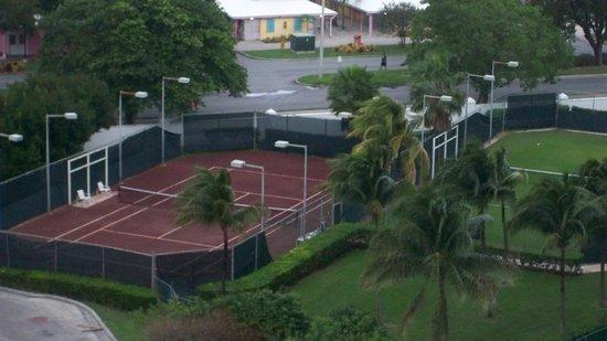 Grand Lucayan, Bahamas: Tennis court