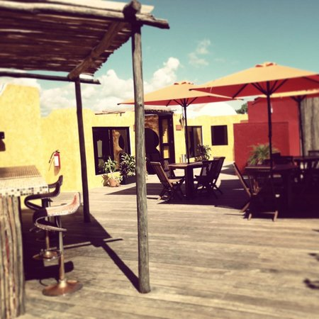 Excel Sense Playacar Boutique Hotel : Deck
