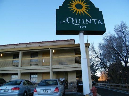 La Quinta Inn Denver Cherry Creek : signage