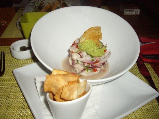 Citron Restaurante: Ceviche...it could have been my whole meal. Fresh flavours..