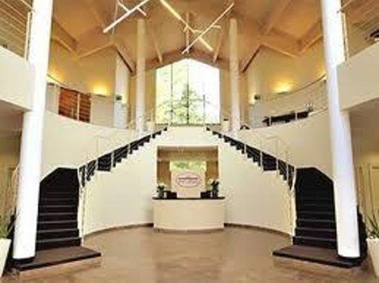 Hotel Capolago: Hall con reception
