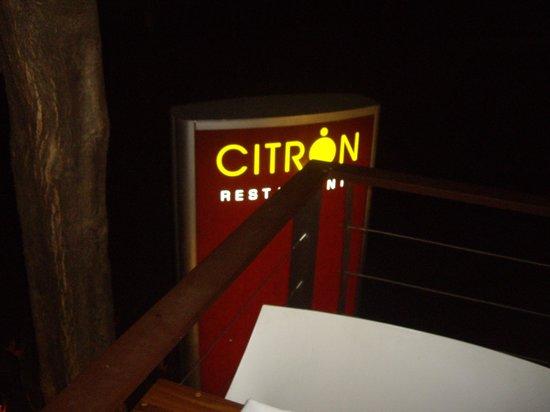 Citron Restaurante: Citron