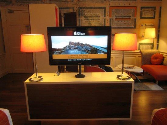 Hotel Indigo Edinburgh : TV