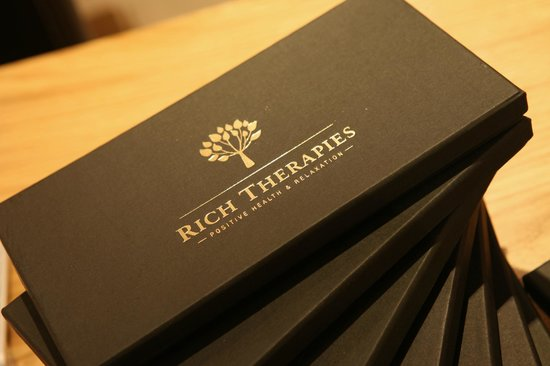 Rich Therapies: Gift Voucher Boxes