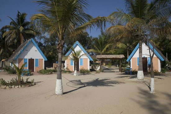 Morondava Beach Bungalows : Morondava Beach.