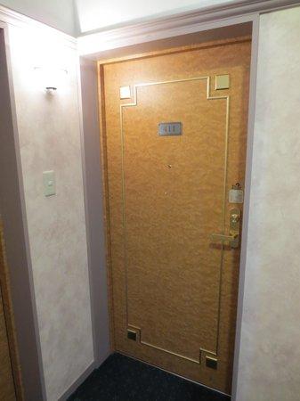 Hotel Floracion Nasu: 411号室のドア