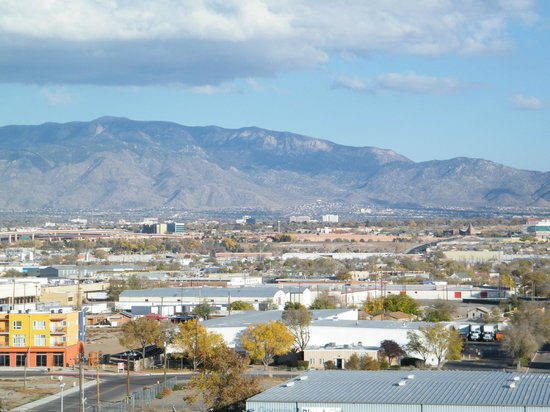 Hotel Albuquerque at Old Town: view of mountains