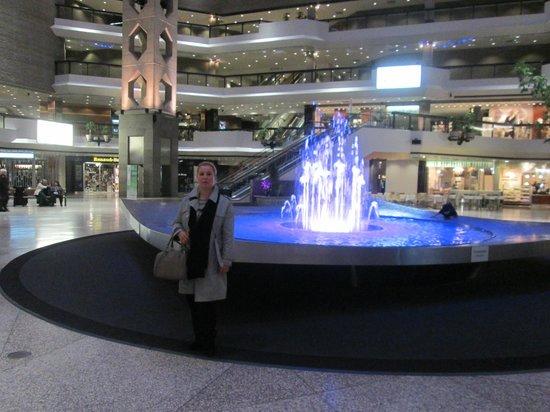 Complexe Desjardins: la fontaine cœur du complexe